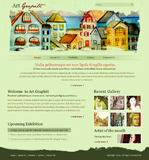 Voorbeeld van Art and Photography_148 Webdesign