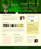 Voorbeeld van Art and Photography_149 Webdesign