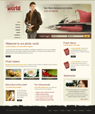 Voorbeeld van Art and Photography_150 Webdesign