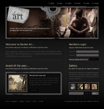 Voorbeeld van Art and Photography_151 Webdesign