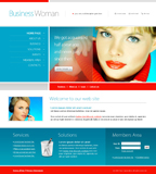 Voorbeeld van Beauty and Fashion_156 Webdesign
