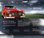 Voorbeeld van Cars and Transportation_180 Webdesign
