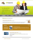 Voorbeeld van Construction and Engineering_210 Webdesign