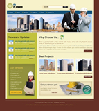 Voorbeeld van Construction and Engineering_212 Webdesign