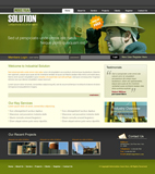 Voorbeeld van Construction and Engineering_213 Webdesign