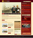Voorbeeld van Construction and Engineering_216 Webdesign