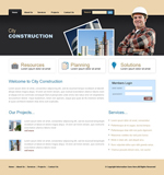Voorbeeld van Construction and Engineering_217 Webdesign
