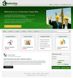 Voorbeeld van Construction and Engineering_218 Webdesign