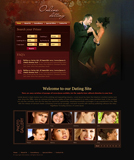 Voorbeeld van Dating and Love_234 Webdesign