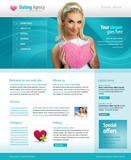 Voorbeeld van Dating and Love_236 Webdesign