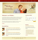 Voorbeeld van Dating and Love_238 Webdesign