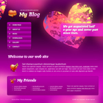 Voorbeeld van Dating and Love_239 Webdesign