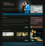 Voorbeeld van Dating and Love_240 Webdesign