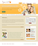 Voorbeeld van Dating and Love_241 Webdesign