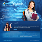 Voorbeeld van Education and Kids_246 Webdesign