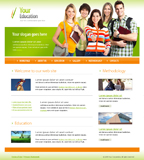 Voorbeeld van Education and Kids_247 Webdesign
