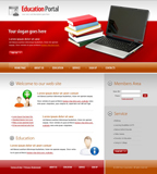 Voorbeeld van Education and Kids_252 Webdesign