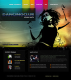 Voorbeeld van Entertainment and Media_264 Webdesign