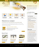Voorbeeld van Entertainment and Media_266 Webdesign
