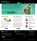 Voorbeeld van Finance and Ecommerce_277 Webdesign