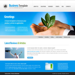 Voorbeeld van Finance and Ecommerce_280 Webdesign