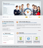 Voorbeeld van Finance and Ecommerce_283 Webdesign