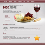 Voorbeeld van Food and Restaurant_288 Webdesign