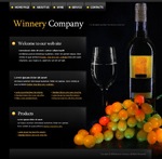 Voorbeeld van Food and Restaurant_289 Webdesign