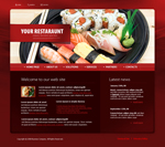 Voorbeeld van Food and Restaurant_290 Webdesign