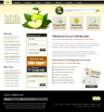 Voorbeeld van Food and Restaurant_291 Webdesign