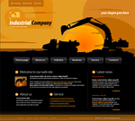 Voorbeeld van Industrial and History_299 Webdesign