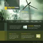Voorbeeld van Industrial and History_304 Webdesign