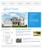 Voorbeeld van Real Estate and Buildings_348 Webdesign