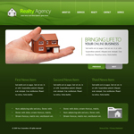 Voorbeeld van Real Estate and Buildings_349 Webdesign