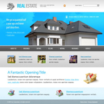 Voorbeeld van Real Estate and Buildings_350 Webdesign
