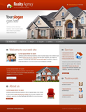 Voorbeeld van Real Estate and Buildings_351 Webdesign