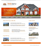 Voorbeeld van Real Estate and Buildings_353 Webdesign