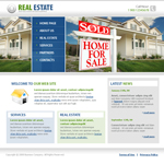 Voorbeeld van Real Estate and Buildings_355 Webdesign