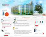 Voorbeeld van Real Estate and Buildings_357 Webdesign