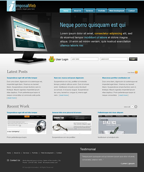 Website laten maken met Computers 206 webdesign