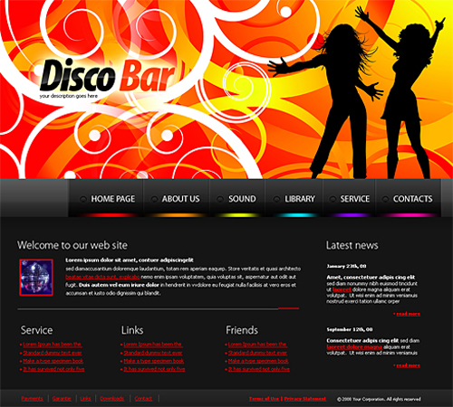 Website laten maken met Entertainment en Media  267 webdesign