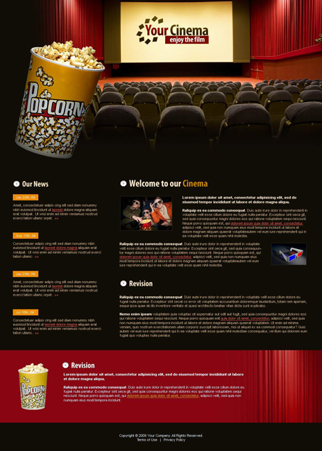 Website laten maken met Entertainment en Media  269 webdesign