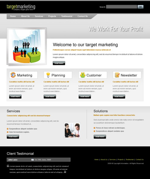 Website laten maken met Marketing 400 webdesign